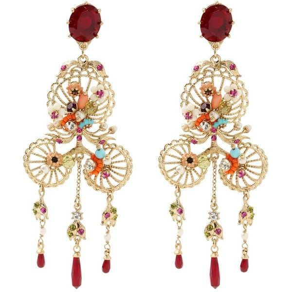 LES NÉRÉIDES Neo-Bourgeoise Earrings - Gold
