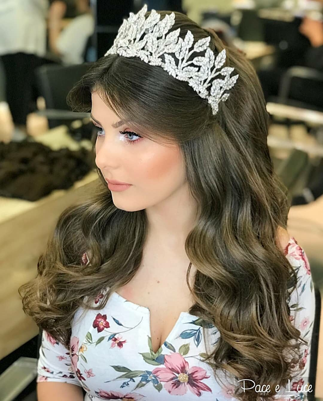 Pin By Roofyyy On فرحي Hair Styles Bride Hairstyles Beautiful Hair