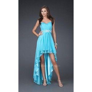 Turquiose Prom Dresses Mullet