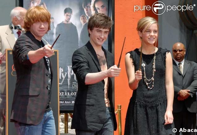 Premier Harry Potter and The Order of The Phoenix.