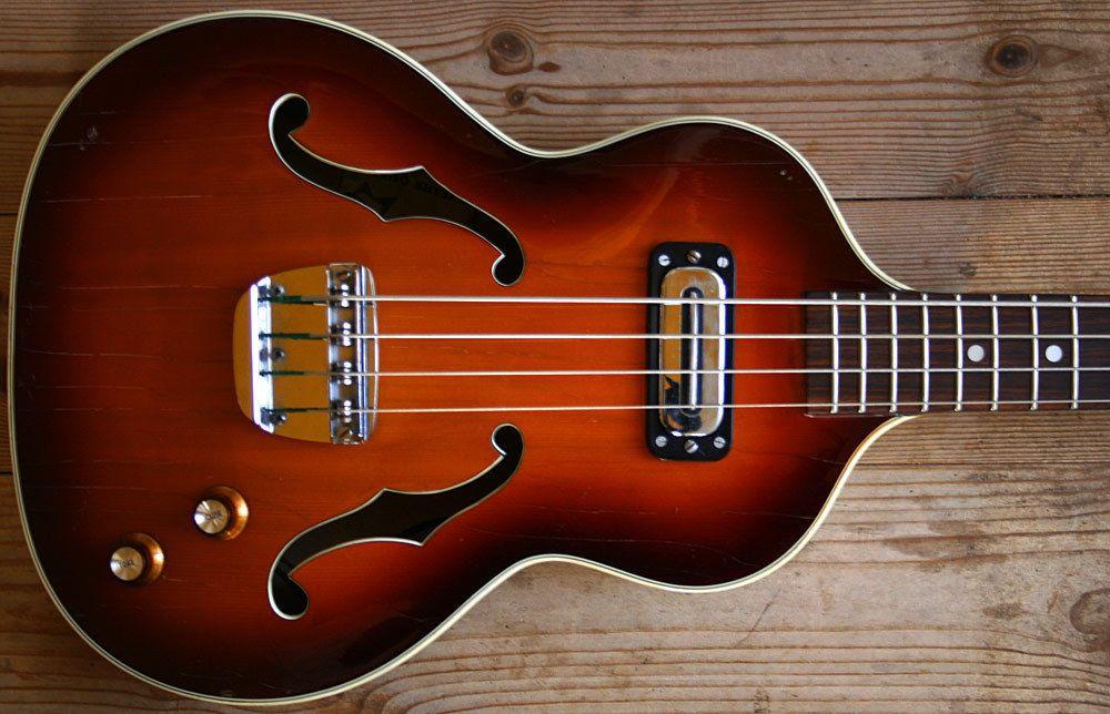 Extremely Rare About 1966 Hoyer 43 London Sem Acoustic Violin Bass Violinen Bass Ebay Bassgitarre Musikinstrumente Gitarre