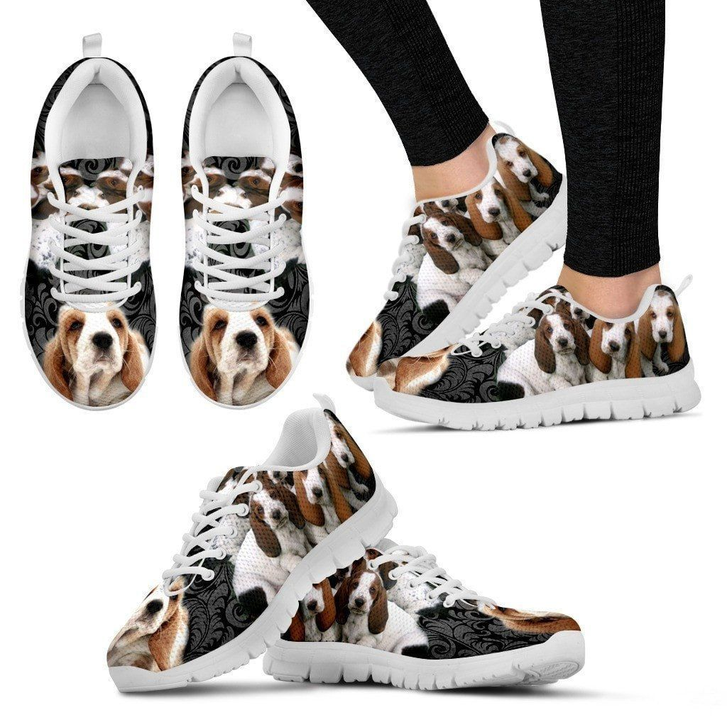 Basset HoundDog Running Shoes For Women (With images