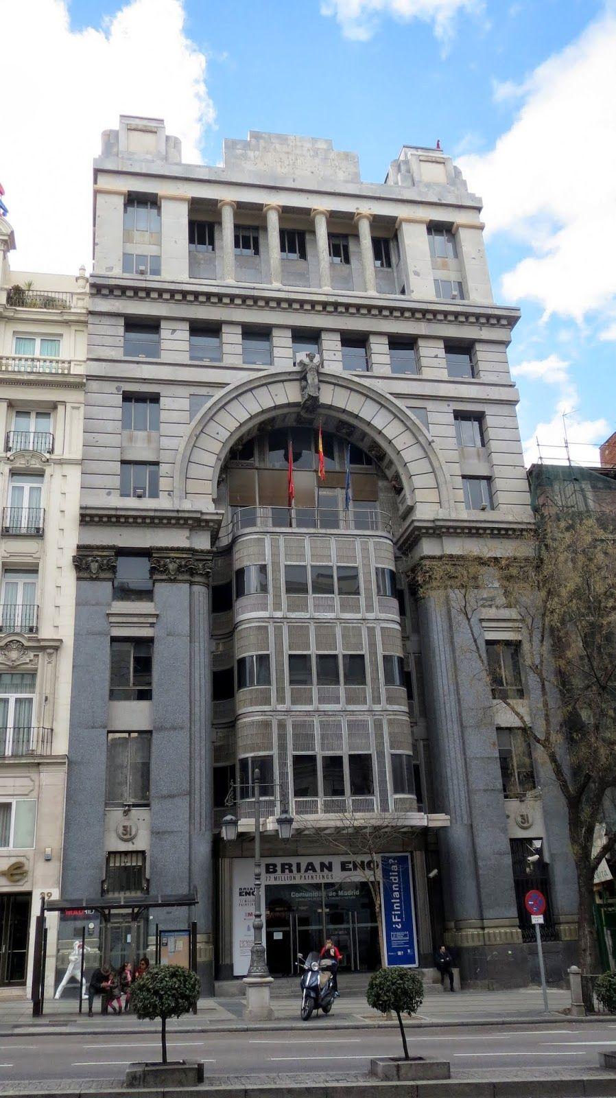 Antonio Palacios Banco Mercantil E Industrial Hoy Sede De