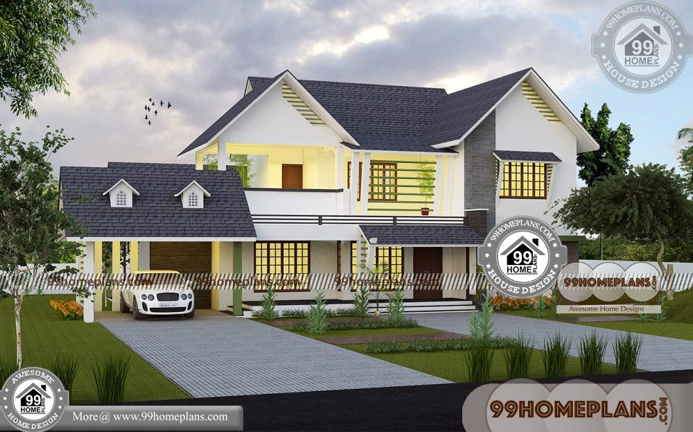 Bungalow House Plans 4 Bedroom With Two Story Homes Designs Small