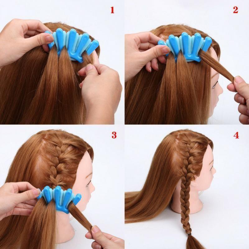 French Plait Braiding Tool Hair braiding tool