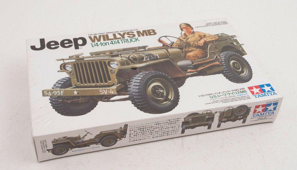 Ebay Sponsored Jeep Willys Mb 1 4 Ton 1 35th Tamiya Model Kit