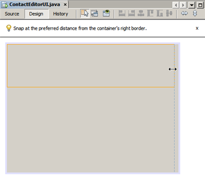 JPanel resized | Tutorial, User interface, Interface