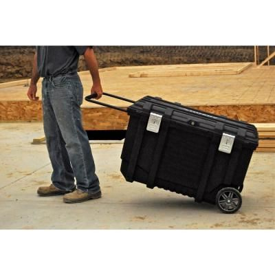 Husky 37 In Rolling Tool Box Utility Cart Black 209261 Rolling