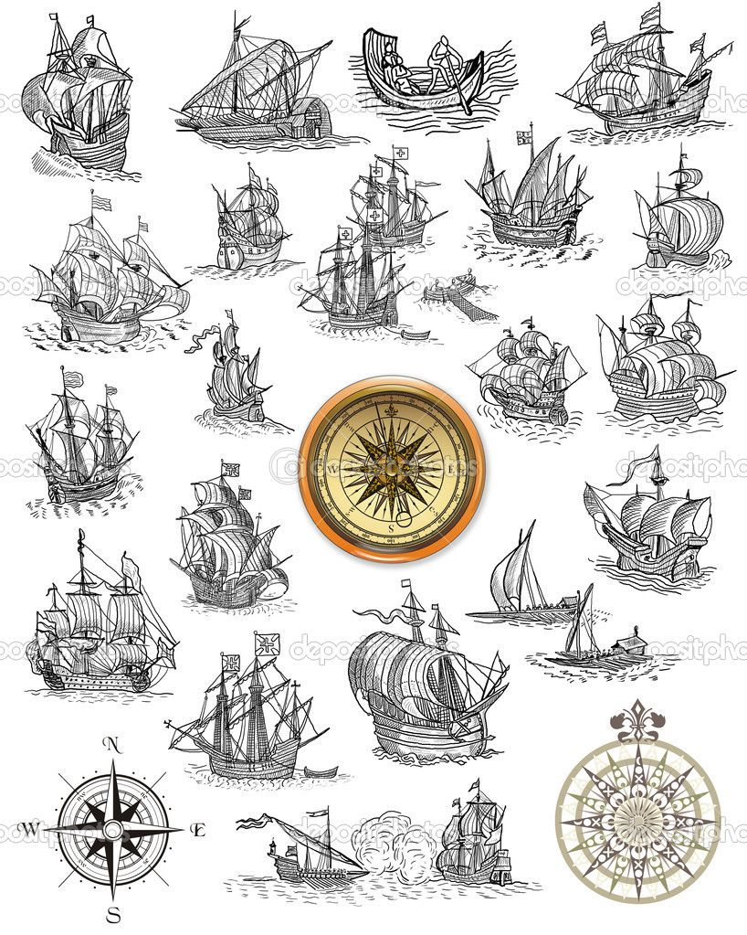 Nautical Symbols And Meanings old nautical ma...