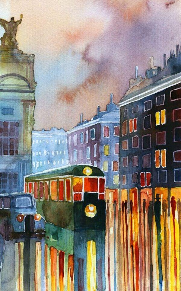 80 Simple Watercolor Painting Ideas Watercolor Art Painting