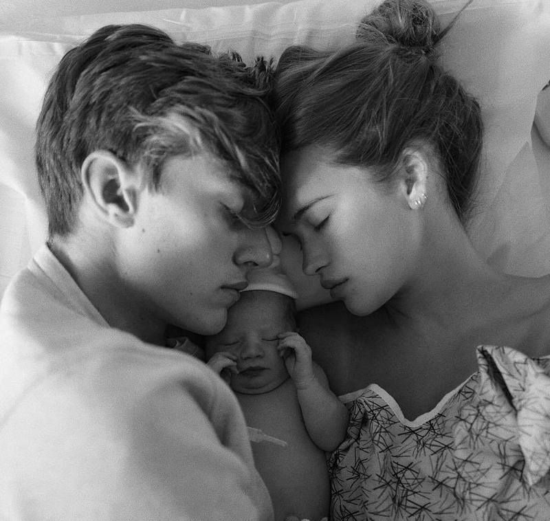 Lucky Blue Smith's kid - daughter Gravity Blue Smith Lucky Blue Smith,  Couple Goals,