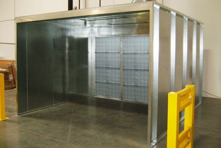 Open Face Spray Booths Spray Booth Room Divider Home Decor