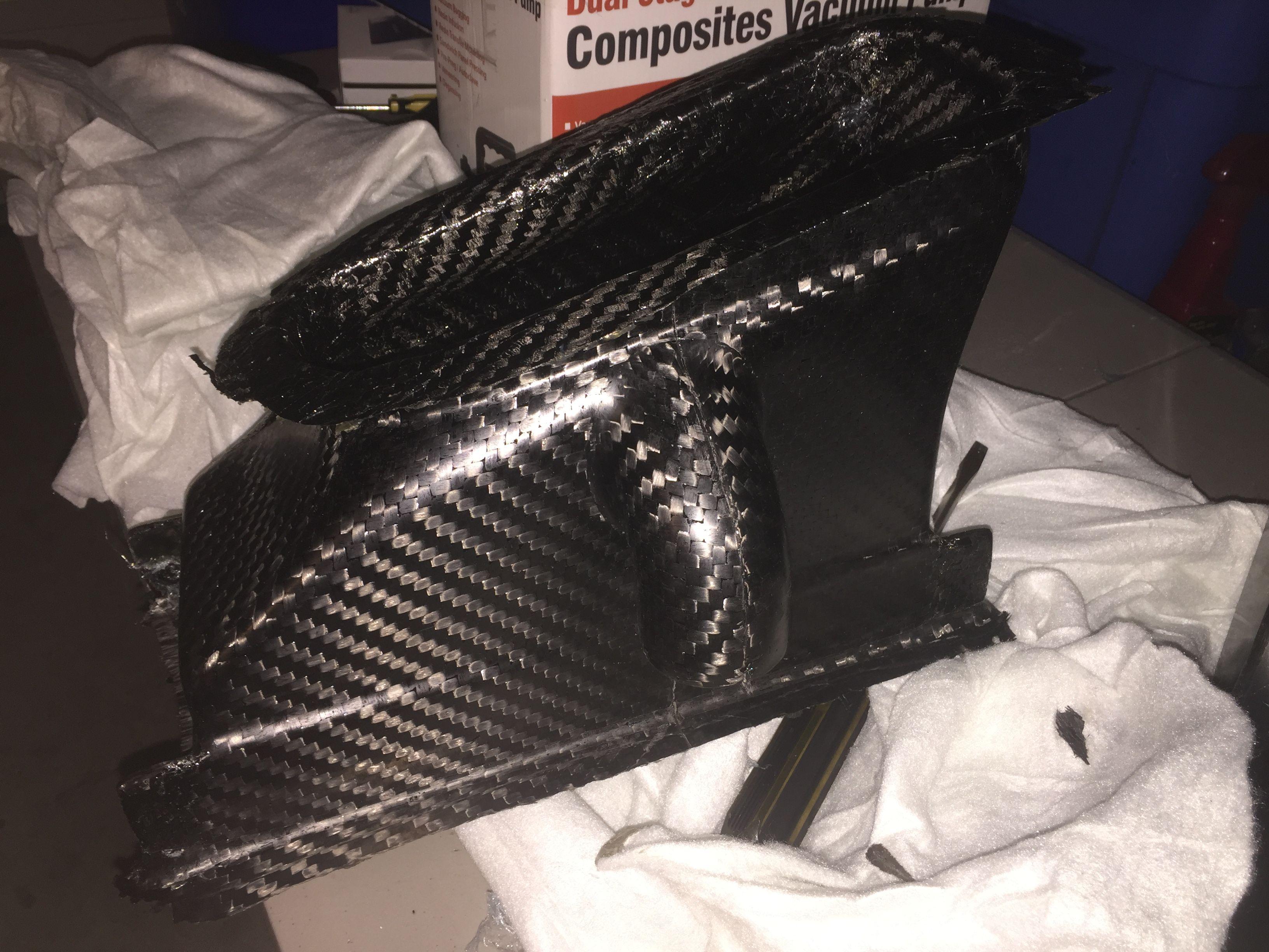 Christian's DIY Carbon Fiber Oil Cooler/Brake Cooler