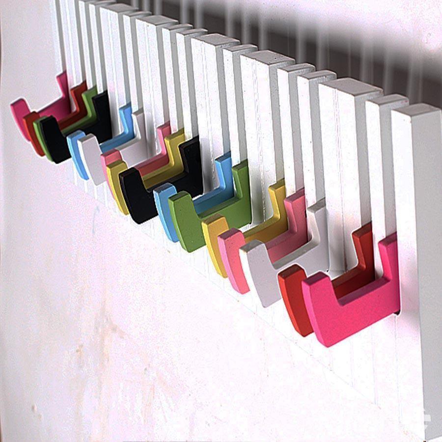 Furniture gadores de prendas pared soportes para ropa for Colgadores para perchas