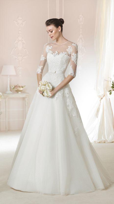 Pronovias Dagnir Now $399 - Debra\'s Bridal Shop at The Avenues 9365 ...