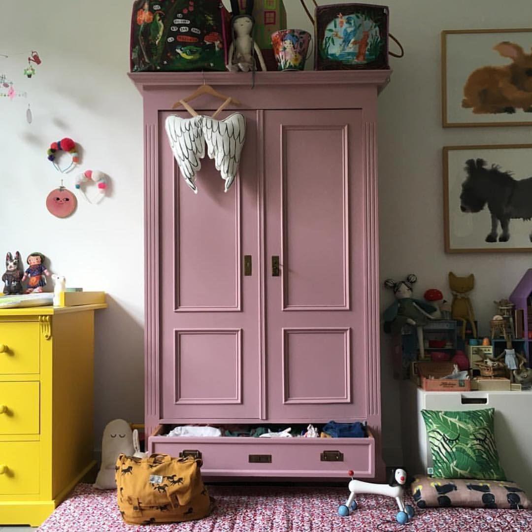 Biedermeier Kast Pioen Roze Artofit