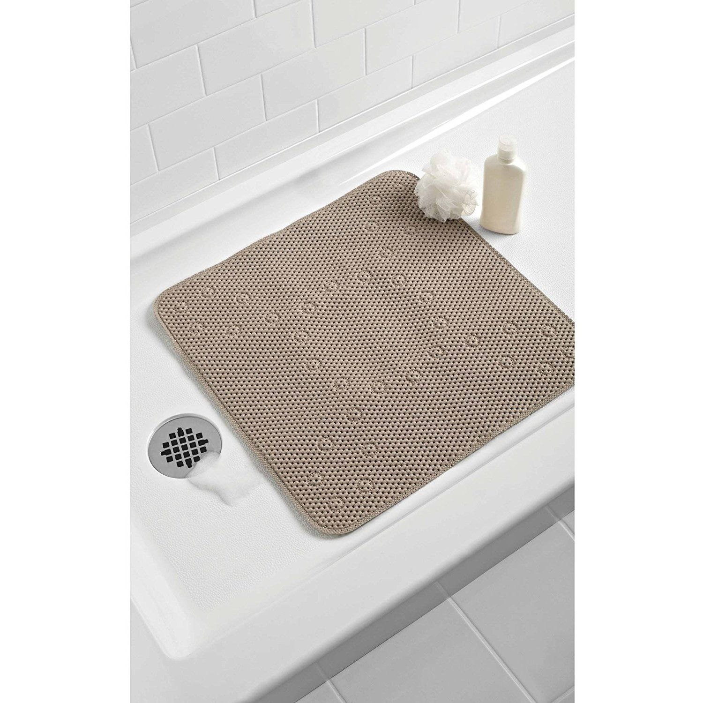 Amazon.com: Softex - Cushion Bath Mat - Latex-free - Color Mineral ...