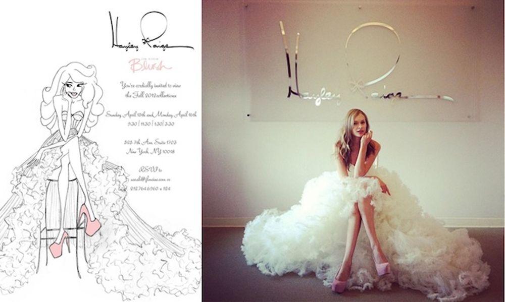 WEDDING DRESS OF THE WEEK: JADEN BY HAYLEY PAIGE (2 IN 1 DRESS) : ファッション1 - NAVER まとめ