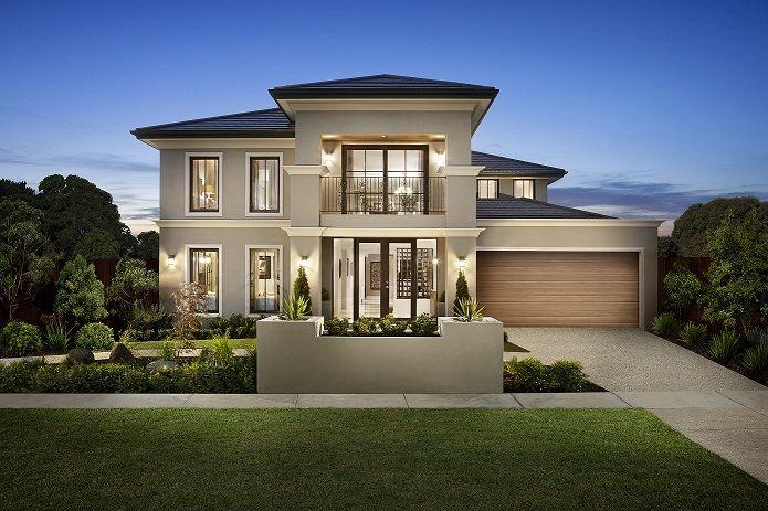 Impressive Facades Australia Mansion