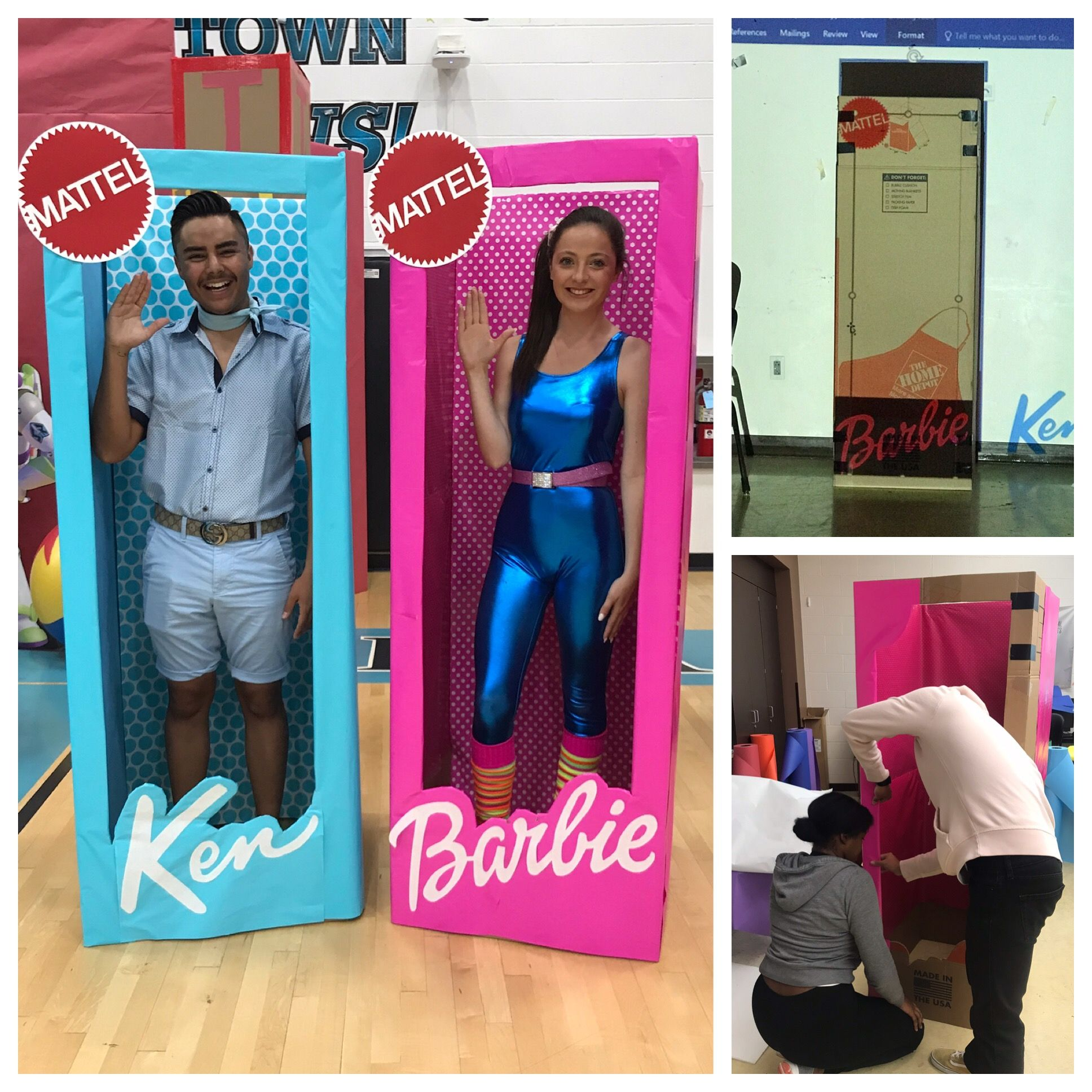 Diy Barbie And Ken Life Size Boxes Life Size Barbie Barbie And