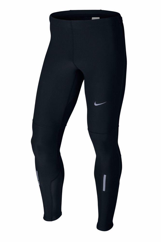 Nike Element Shield Men's Running Tights 555026 010 Medium Was $100