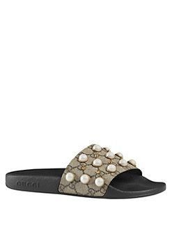 Gucci - Pursuit Pearly Embellished GG