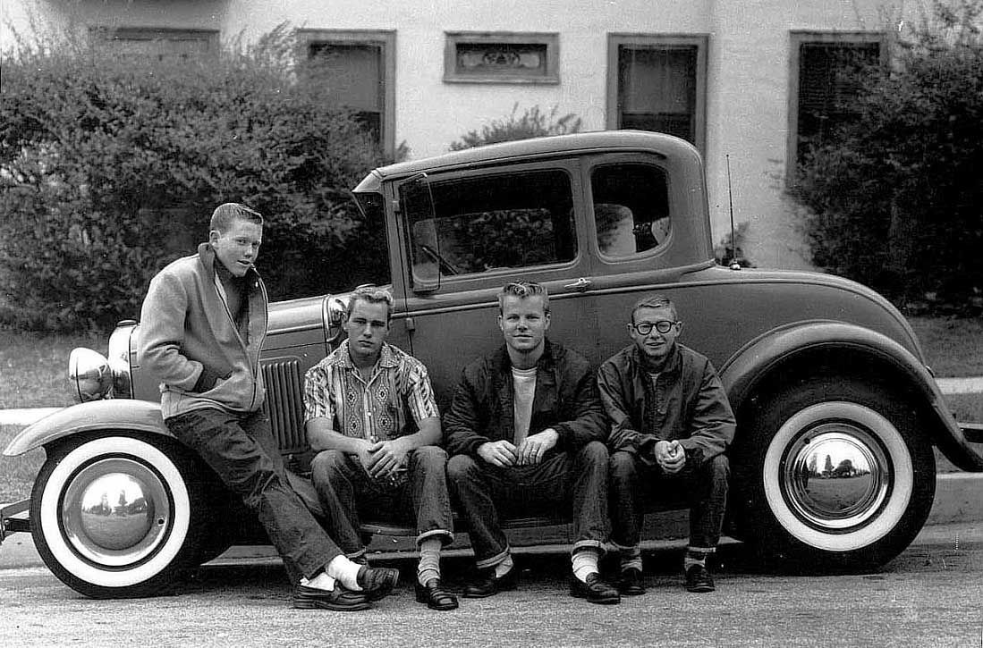 1950s Hot Rod (from Just a Car Guy via http://www.jalopyjournal ...