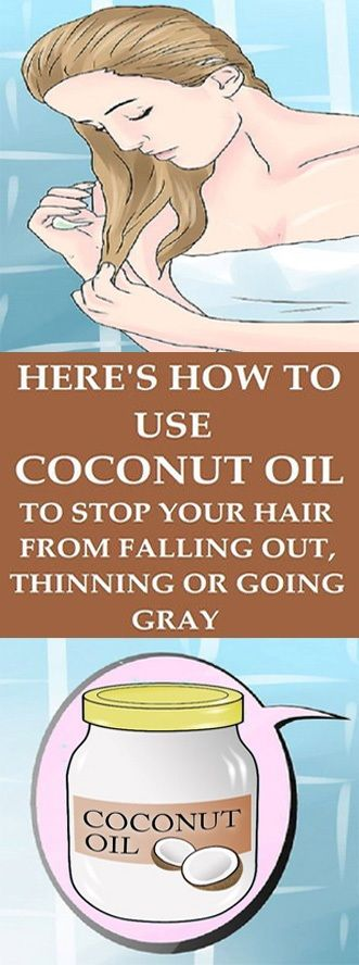 Here's How To Use Coconut Oil To Stop Your Hair From ...