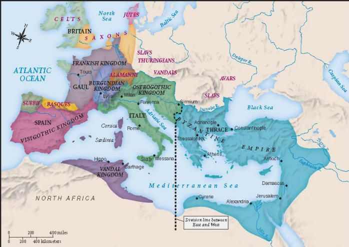 roman north africa map Ancient Rome Empire Map Labeled Germanic Tribes Eastern Roman roman north africa map