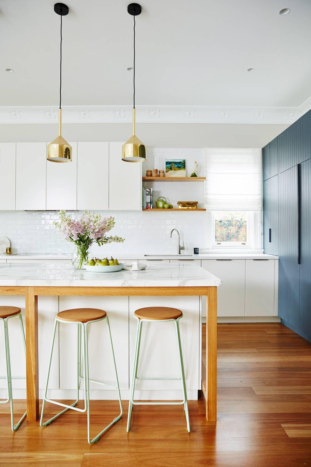 Dream kitchen makeover: Over $30,000 | Kitchens, Floating shelves ...