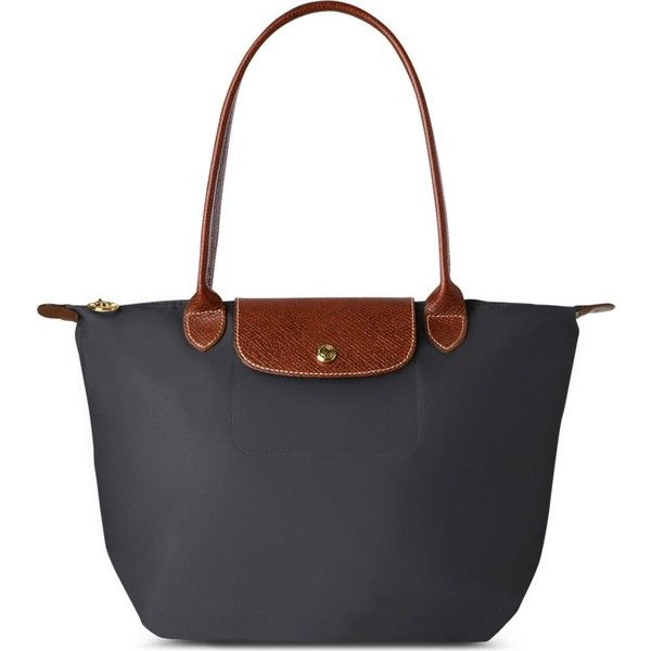 Le Pliage small tote bag in fusil ($91) ❤ liked on Polyvore featuring bags