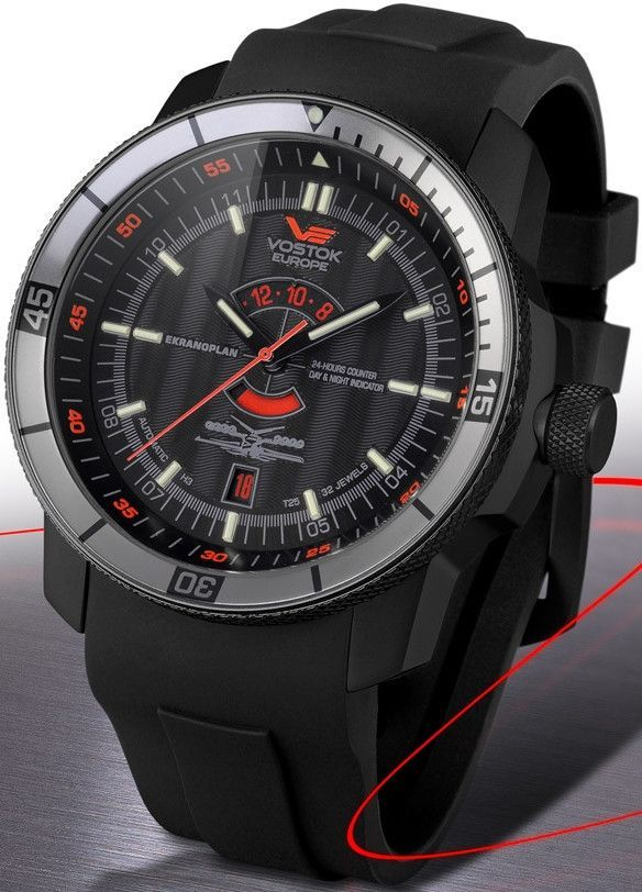 Vostok-Europe Ekranoplan Caspian Sea Monster Watch 2432.01 5454108 ... 89236bd514d