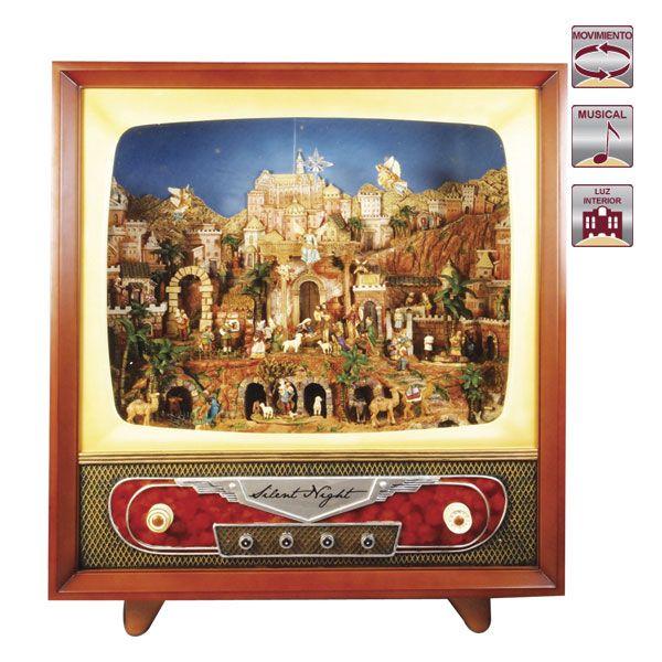 TELEVISION CON BELEN