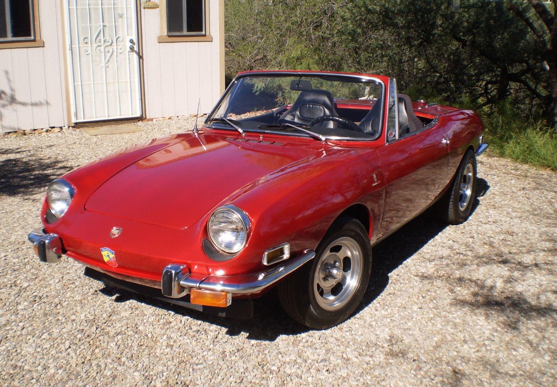 1971 Fiat 850 Sport Spider
