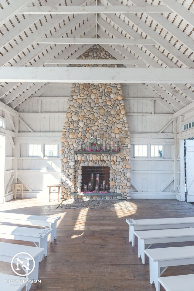 Lbi Beach Theme Wedding Inside The Chapel At Bonnet Island Estate Manahawkin Nj Long New Jersey By Nick Benson Photography