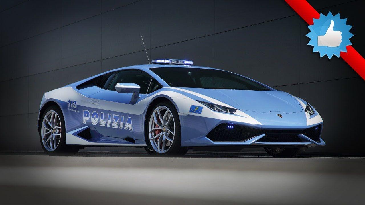 Attractive 2015 #Lamborghini Huracan LP 610 4 Polizia: Italian State Police Design