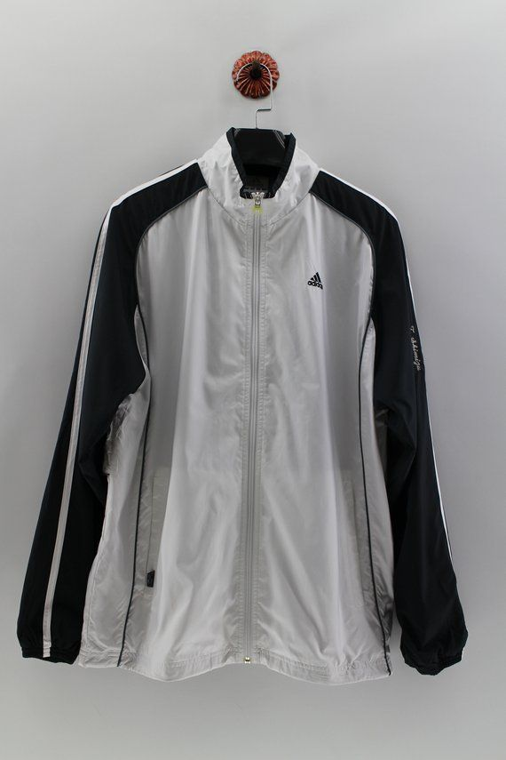 2599e70381209 ADIDAS TENNIS Club Windbreaker Large Adidas Tennis Challenge Black ...