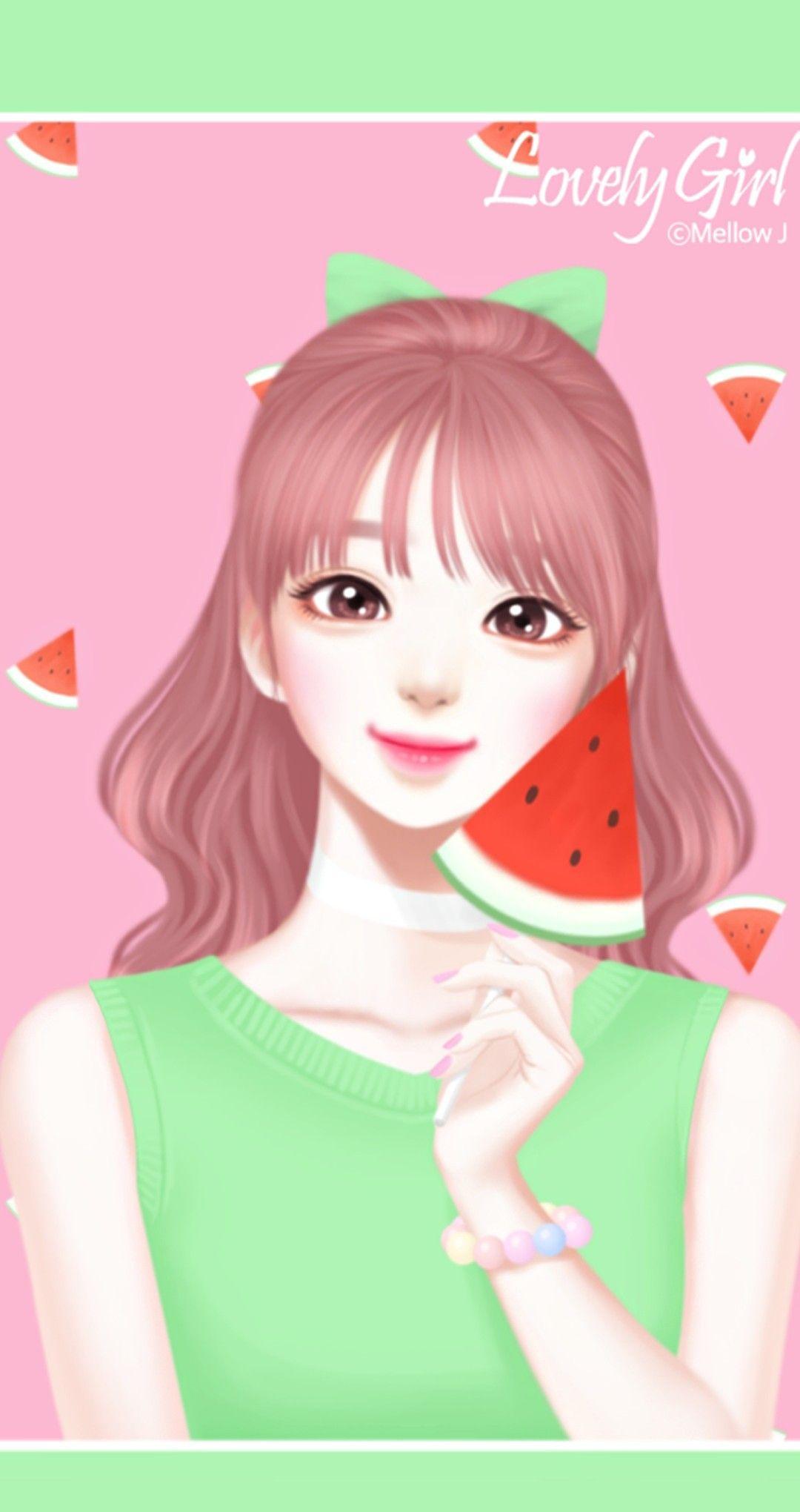 Enakei Gadis Animasi Anime Gadis Cantik Gadis Lucu