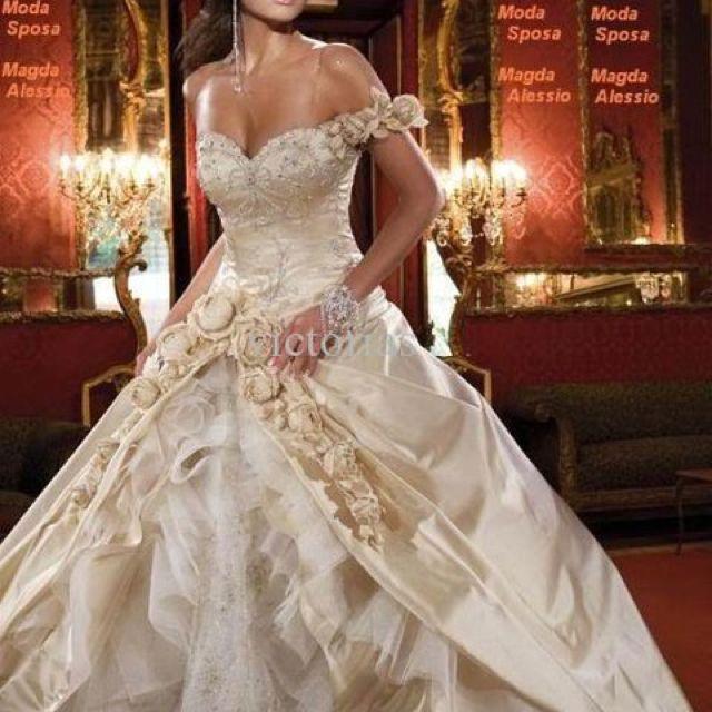 wedding dress :)