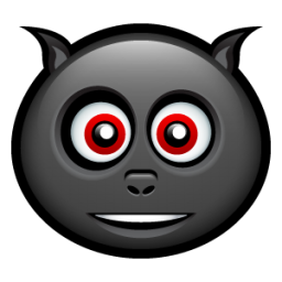 Happy Bat Face Icon Png Clipart Image Iconbug Com With Images Face Icon Icon Emoticon