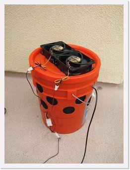 How To Build A Diy Bucket Swamp Cooler Swamp Cooler Homemade Swamp Cooler Diy Swamp Cooler