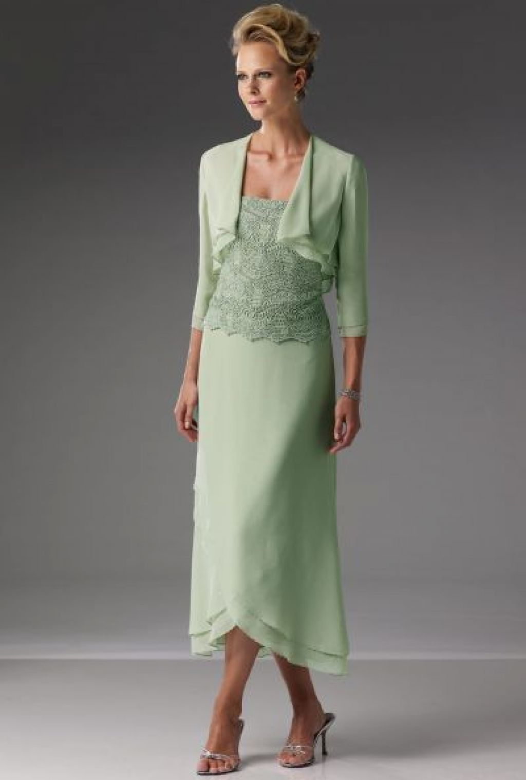 the bride dresses tea length mother of groom for summer