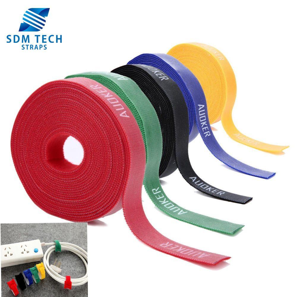 0638543d55ef SDM TECH Self wrap gripping hook loop tape. Multi-purpose double-sided velcro  tape #fastenertape #doublesidevelcro #selfwrap #cabletie #cableholder ...