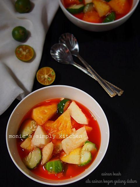 Asinan Buah Ala Asinan Bogor Gedung Dalam Monic S Simply Kitchen Resep Makanan Buah Segar Resep