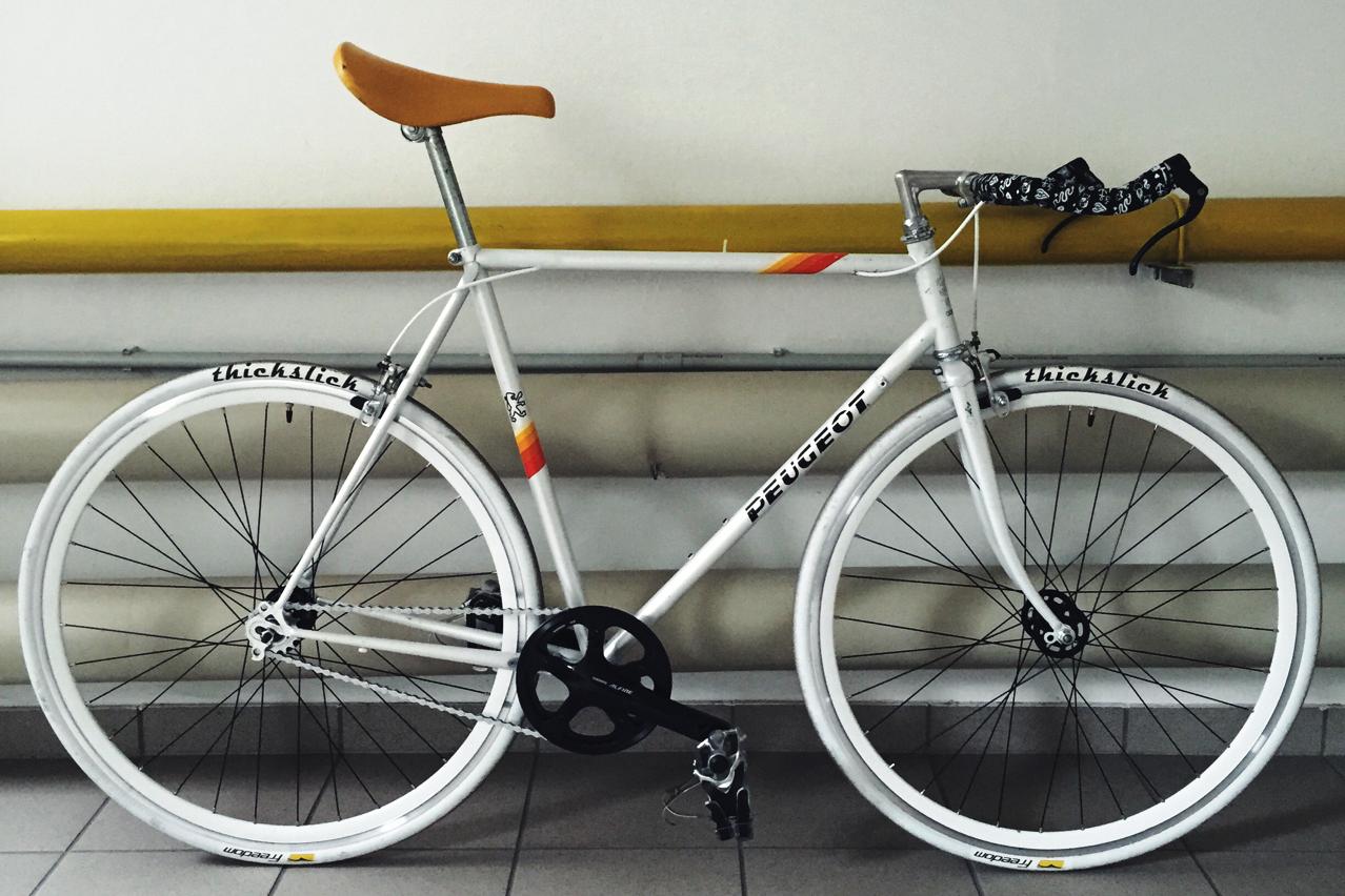 old peugeot fixie rebuilt from chris brunner on bike. Black Bedroom Furniture Sets. Home Design Ideas