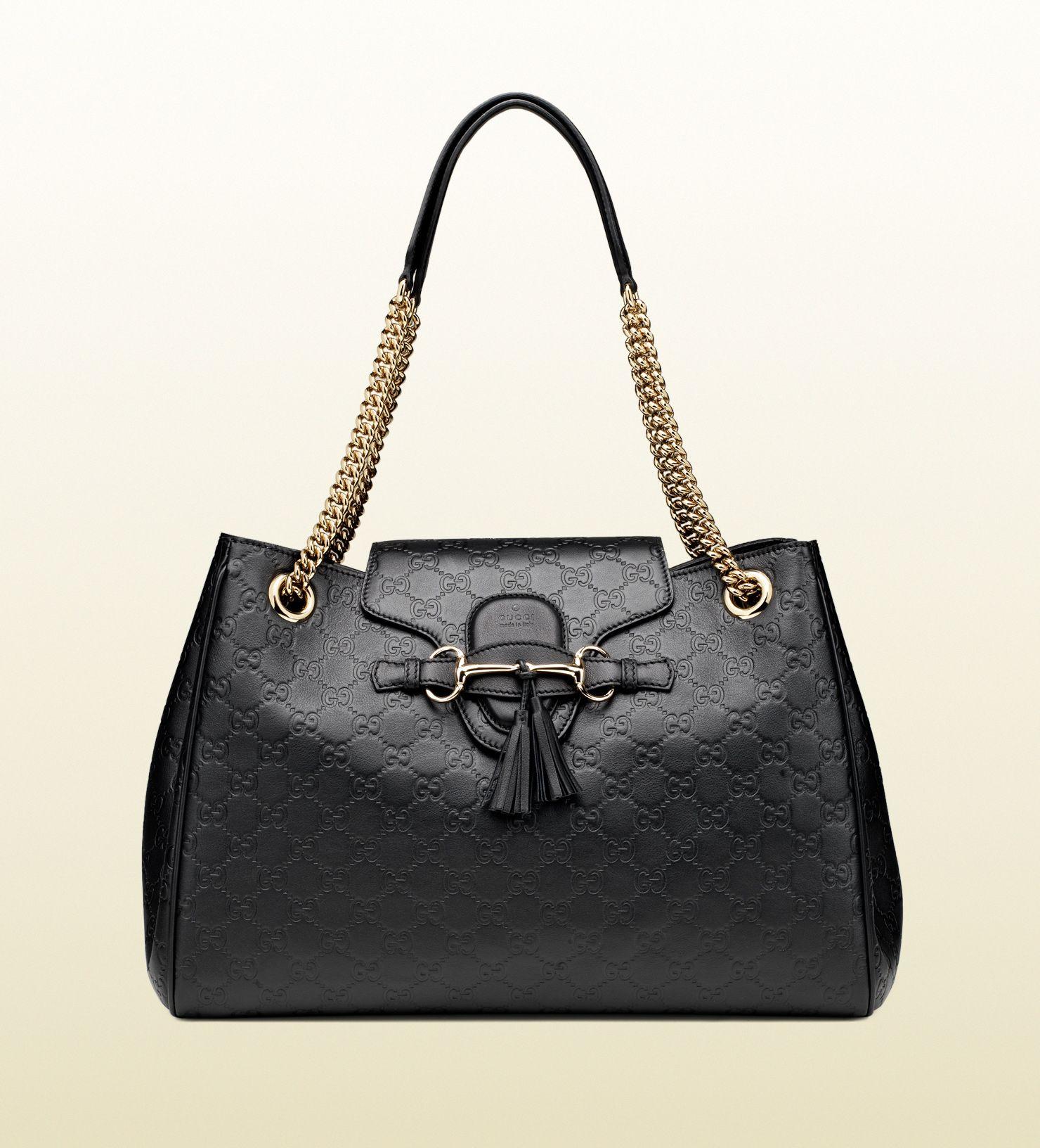 d3a1f1930b0f Gucci - emily guccissima leather shoulder bag 336757AA61Y1000 ...