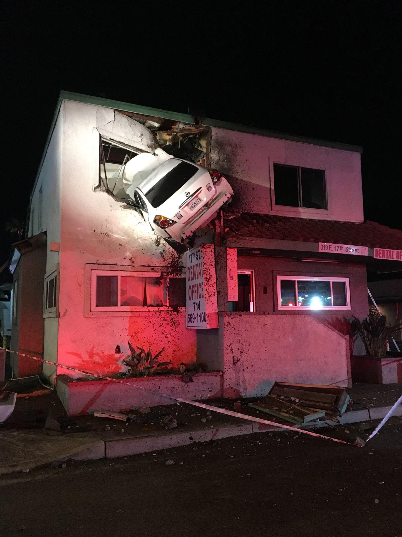 car accident no insurance california