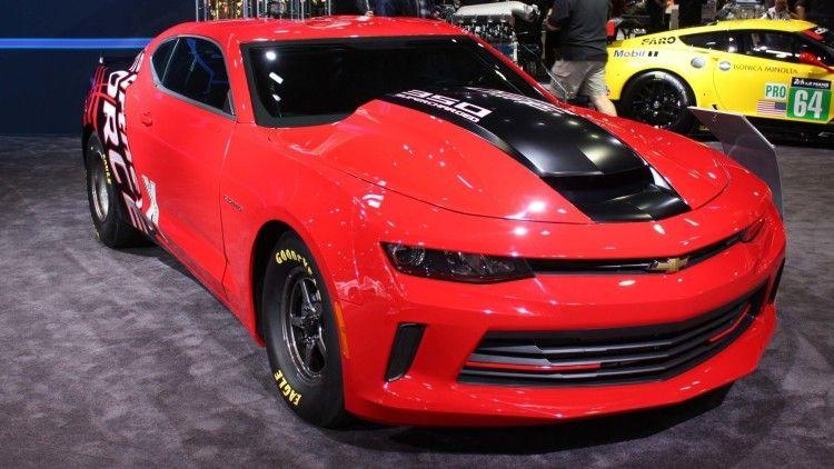 Chevrolet Camaro Copo 2016 Preparado Para Drag Races Chevrolet