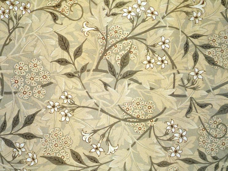 Designer: William Morris \'Jasmine\', 1872 #design, #wallpaper ...