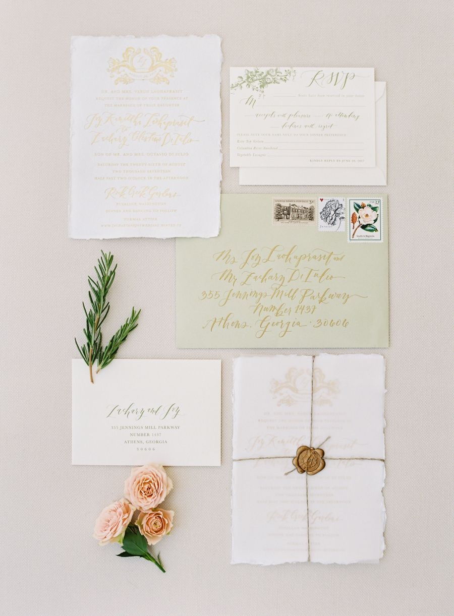 Our Jaws Dropped When We Saw This Thai American Wedding Invitation
